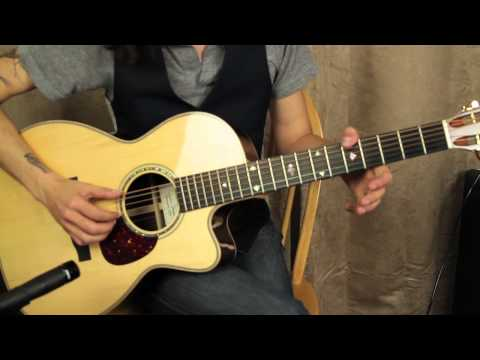 Acoustic Blues Fingerstyle Guitar Playing with John Konesky