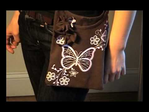T-Shirt Pochette ~Recycling Your Favorite T-shirt~