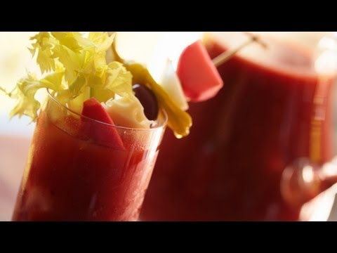 Bloody Mary w/ Dark Lager Malt Beer: Make It (How to) || KIN EATS