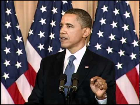 President Obama: Middle East Protests Started in Tehran (English)