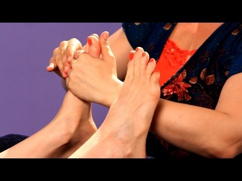 Working the Ball of the Foot | Foot Reflexology Techniques