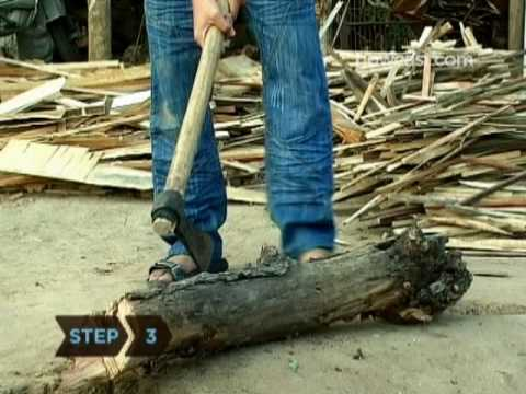 How To Split Wood Properly