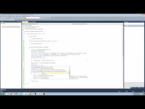 C# Beginners Tutorial - 182 - Project 5 Captcha Generator, Getting Image Name