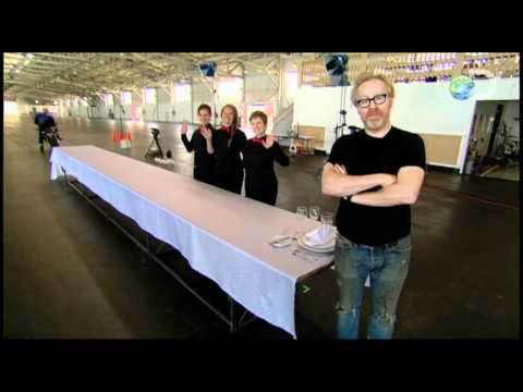 MythBusters - Sew-Sew Seam | Table Cloth Chaos