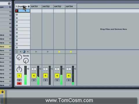 Seperating Elements Drum Racks