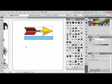 How to define symbols in Illustrator | lynda.com tutorial