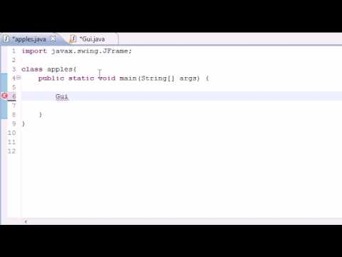 Java Programming Tutorial - 63 - JButton Final Program