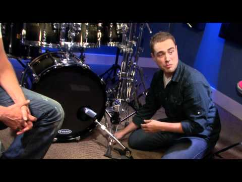 How To Mic Your Bass Drum - Free Drum Lessons