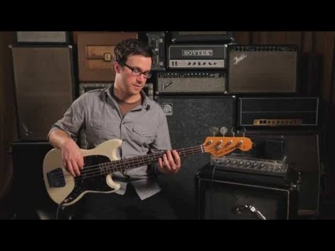 Bass Chords: How To Play a G Sharp/A Flat Major Triad