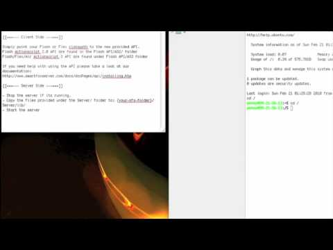 1. Unity3d Tutorial - The Caling Stones - SmartFoxServer Installation On A Remote Server