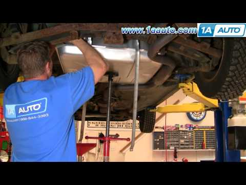 How To Install Replace Gas Fuel Tank Chevy Lumina Buick Regal Pontiac Grand Prix 91-96 1AAuto.com