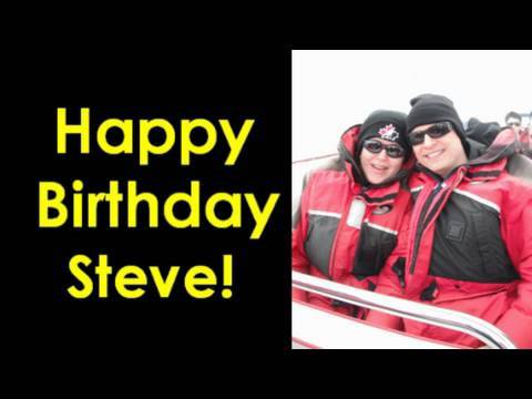 Learn English with Steve Ford - Birthday Message -Thank you facebook-youtube-peppyclub!