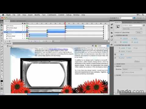 lynda.com Podcast Episode 210: Creating a First Web Site with Flash Professional CS5