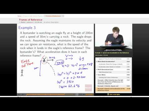 Physics: Frames of Reference