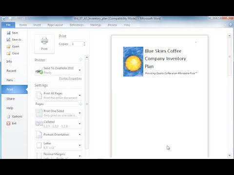 Word 2010: New Features
