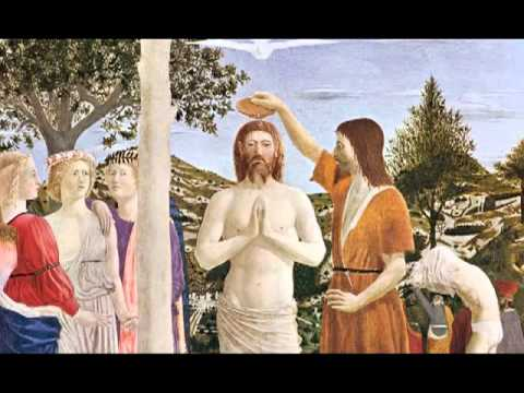 Piero della Francesca, The Baptism of Christ, 1450s