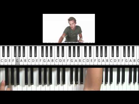 "How to Play ""Do You Wanna Touch Me"" (Glee Version) on Piano (Practice Cover)"