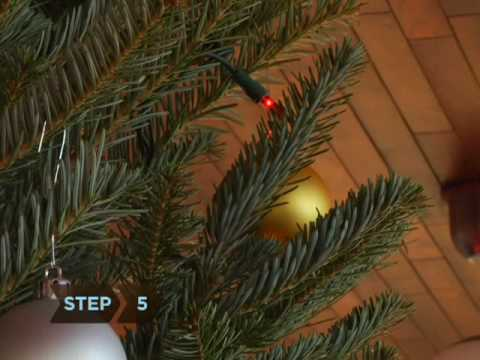 How To Hang Ornaments on a Christmas Tree