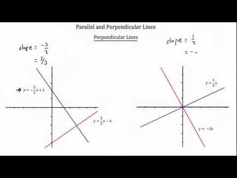Parallel and Perpendicular Lines Part 1-Textbook Tactics