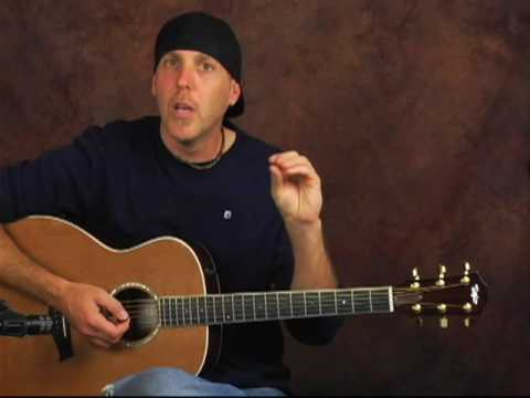 Acoustic or electric guitar chucking rhythm strum lesson strum patterns add spice