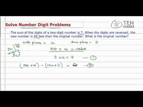 Solve Number-Digit Problems