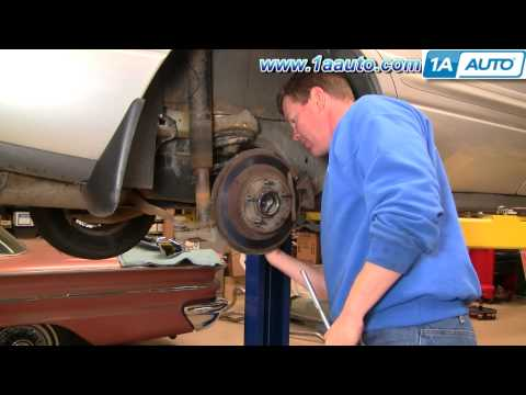 How To Install Replace Rear Disc Brakes Buick LeSabre 00-05 1AAuto.com