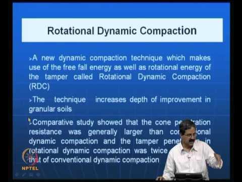 Mod-02 Lec-06 Deep compaction