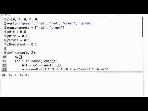 Inexact Move Function - CS373 Unit 1 - Udacity