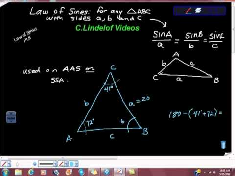 Geometry Law of Sines One