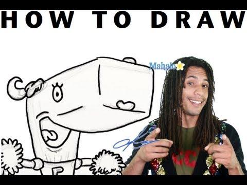 How to Draw Pearl Krabs from SpongeBob SquarePants