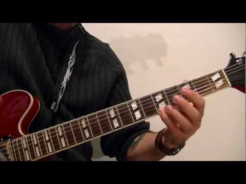ROCK/ BLUES SCALE Guitar Lesson WITH TABS