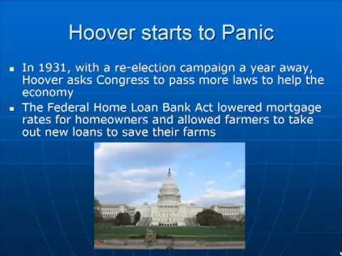 Schmidt Notes - US History - Unit 5 - Hoover Struggles (Chapter 14.3)