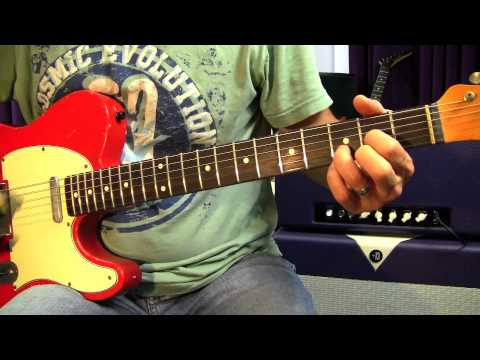 Rock Guitar Lessons Electric - Rhythm In An Alternate Tuning