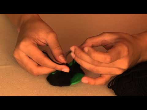 How to make a Black Woolly Spider- Arts and Crafts