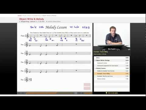 Songwriting: Object Write & Melody