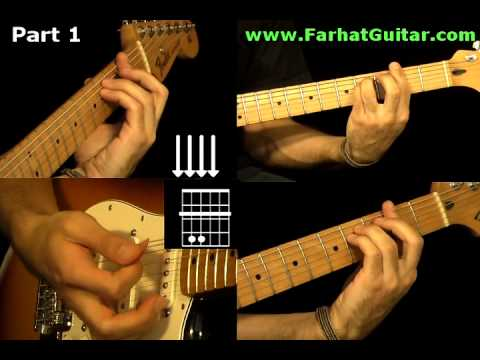 With a Little Help From My Friends The Beatles - Guitar Cover Part  5 www.Farhatguitar.com