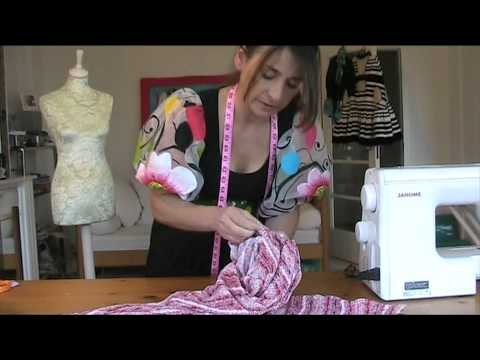 DIY HOW TO SEW BATWING TOP IN 15 MINS