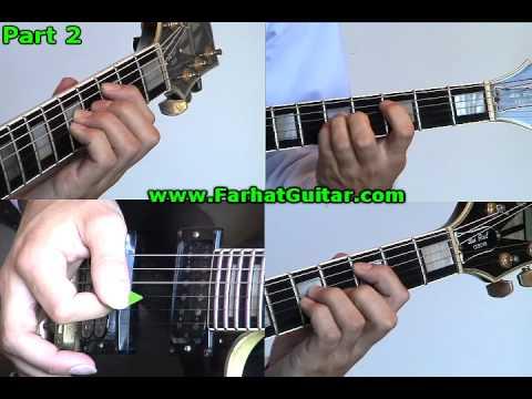 Paradise City Guns and Roses Guitar 2www.FarhatGuitar.com