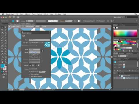 Illustrator CS6: Using the Pattern Options tool | lynda.com tutorial