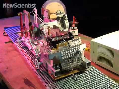 Turing machine made from scrap metal