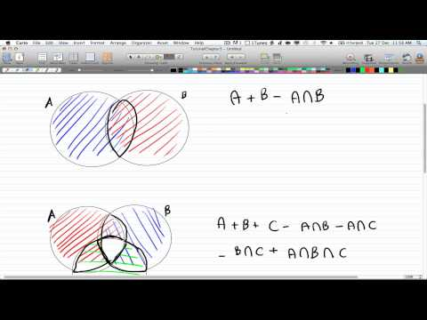 Discrete Math 2-Tutorial 12-Inclusion/Exclusion Principle
