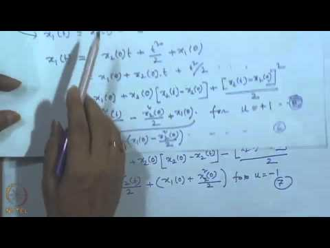 Mod-01 Lec-49 Lecture-49-Solution of Minimum -- Time Control Problem with an Example