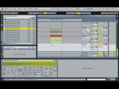 Interesting ways to use Side Chaining in Ableton Live