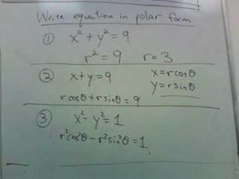 polar coordinates part 2