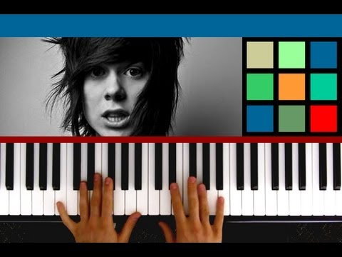 "How To Play ""Lovesick"" Piano Tutorial (Never Shout Never)"