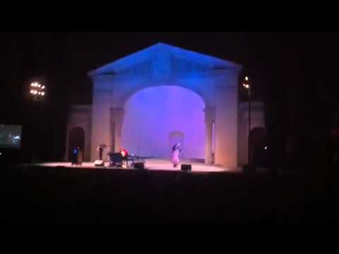 Outdoor concert at Redlands Bowl:   Waltz