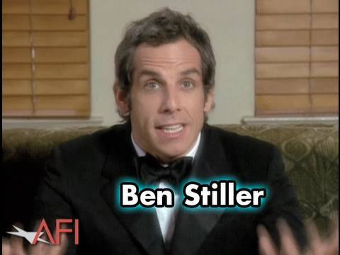 Ben Stiller Salutes Robert De Niro at the AFI Life Achievement Award
