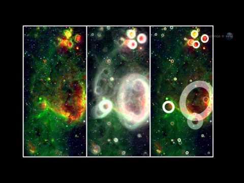 ScienceCasts: Amateur Scientists Discover Galactic Bubbles
