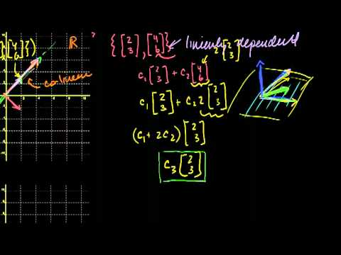 Saylor MA232: Introduction to Linear Independence