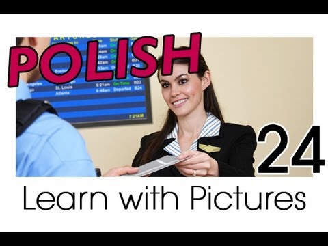 Learn Polish with Pictures - Going on Holiday